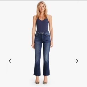 Mother Outsider Crop Jeans Fast Times NWT $228